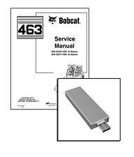 Bobcat 463 Skid Steer Loader Workshop Service Repair Manual USB Stick + Download
