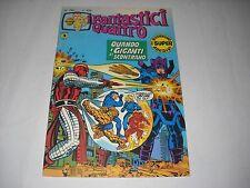 FANTASTICI QUATTRO N. 190 CON ADESIVI !!! EDIZIONE CORNO 1978 BELLISSIMO GADGET