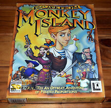 Escape From Monkey Island PC Game Complete in Big Box Lucasarts