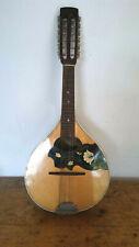 mandolino mandola ukulele mignon 12 corde vintage mandolin, 曼多林 , แมนโดลิน