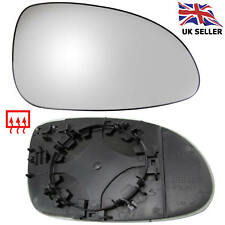 VW PASSAT B6 WING MIRROR GLASS HEATED RIGHT OFFSIDE DRIVER CLIP ON GLASS