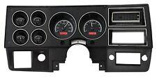 1973-1987 Chevy Truck C10 Black Alloy & Red Dakota Digital VHX Analog Gauge Kit