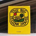 Rare Vintage Matchbook X1 California The Big Yellow House Just Like Grandma's