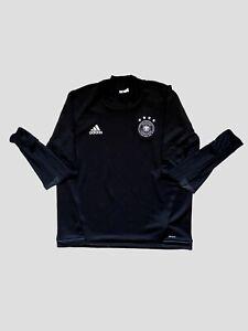 Germany Football DFB Training Shirt Long Sleeves / Technical Sweatshirt Black XL