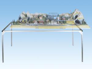 NOCH 62100 Alu-Zargensystem, 120x100cm Lieferung ab Hersteller