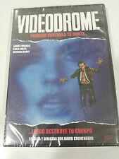 VIDEODROME DVD CASTELLANO ENGLISH TERROR DAVID CRONENBERG JAMES WOODS NEW NUEVA