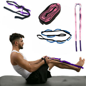 Waist/Arms/Back Exercise 2Meters Yoga Stretch Strap Bands Belt For Body Fitness