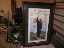 "ARNOLD PALMER ""KING"" BIDS FAREWELL signed by orig. artist and Arnold Palmer"