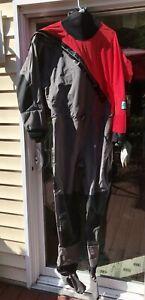 Women's Kokatat Paddling Drysuit Super Nova Radish/Gray MediumSwift Entry Relief