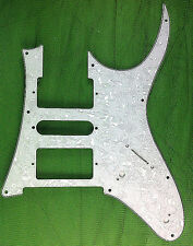 4 Ply Guitar Pickguard for Ibanez RG–White Pearl