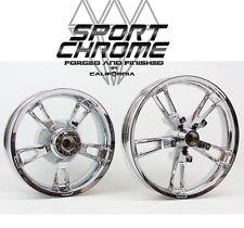 2014-2017 Harley FLHX Street Glide Enforcer Chrome Wheels Rims LIFETIME WARRANTY