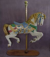 """Full Size Carousel Horse PTC Jumper 58"""" Hand Painted FREE SHIP 12 Color  Choices"""