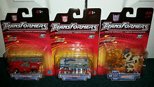 Optimus Prime + Ultra Magnus + Obsidian Transformers RID Hasbro 2001 ALL MISP!