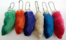 12 Lucky Rabbit'S Foot (Oryctolagus Cuniculus) Key Chains New