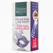 New Sealed Christian Breton Stick Glace Ice Stick Eye Contour 0.09 fl oz