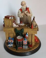 "1990 ""Santa's Workshop"" The Rockwell Heirloom Santa Collection"
