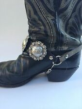 Boot Straps Handmade In The USA!!  Western Biker Cowboy Cowgirl Stage Wear