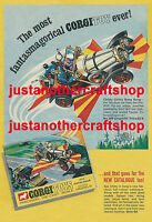 Corgi Toys 266 Chitty Chitty Bang Bang Large A3 Poster Advert Sign Leaflet 1968