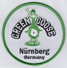 "Внешний вид - Green Goose Nürnberg Germany Round 4"" patch embroidered"