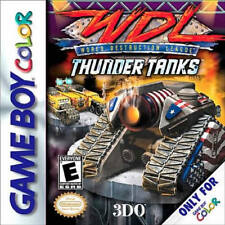 WDL World Destruction League Thunder Tanks GBC New Game Boy Advance