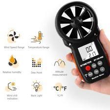 Anemometer Digitales Flügelrad Windmessgerät Windmesser Thermometer BT-100-WM