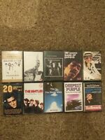 Job Lot Bundle Cassette Tapes Elvis Clapton Bread Hendrix Elton Beach Boys...