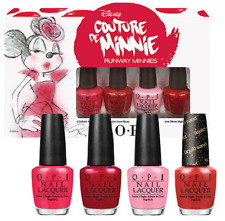 BRAND NEW OPI COUTURE DE MINNIE N 4 Bottle Minis Set * LOT OF 12