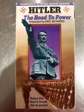 Hitler - The Road to Power - Documentary - Very Good Conditions (Vhs, 1990)