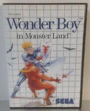 Sega Master System Wonder Boy in Monster Land *** COMPLETE ***