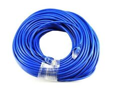 Blue Gold Plated 50Ft Cat5 Cat5e Rj45 Patch Ethernet Network Cable 50 Ft For .