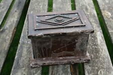 Dybbuk Box..wooden chest/ box - wax sealed with paranormal entity