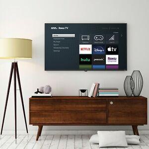 onn. 58-Inch Class 4K UHD LED Roku Smart TV
