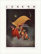 Titelseite der Nummer 6 von 1930 Franz Sedlacek Das Narrenschiff Jugend 4689