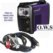 PARWELD XTS 142 MMA Arc Welding Inverter 140 AMP 230v with TIG + LEADS