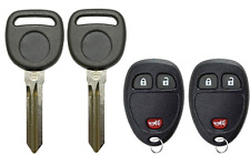 2 GM 2007-2017 B111 Transponder Chip Key + 3 Button Remote Fob OUC60270 A+++ USA