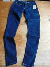NWT Lucky Brand Women's Med Wash Denim Jeans Skinny Fit Size 00/24 $79 B46