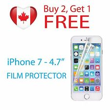 """Clear Protective Film Screen Protector for Apple iPhone 7 4.7"""" PET Film"""