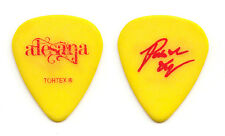 Alesana Patrick Thompson Signature Yellow Guitar Pick - 2010 Warped Tour