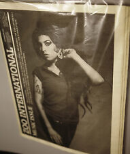 ZOO INTERNATIONAL Newspaper MUSIC ISSUE 2007 AMY WINEHOUSE by BRIAN ADAMS @New