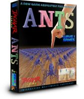 ANTS  2018 ATARI JAGUAR GAME NEW! On Color Changing Chameleon Cartridge!