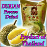 NEW 6x35g. Freeze Dried Crispy DURIAN Monthong 100%Natural Thailand Fruit Snack