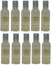 Crabtree & Evelyn Verbena & Lavender Shower Gel Lot of 10 each 0.8oz Bottles