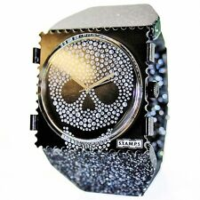 S.T.A.M.P.S. Uhr STAMPS DIAMOND HEAD  + Armband BELTA Y GLITTER SILVER