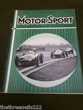 MOTORSPORT - MAY 1959 Vol XXXV #5 - DAIMLER MAJESTIC TEST