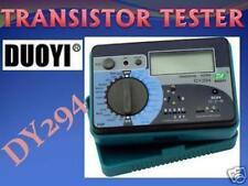 DY294 Digital Transistor FET DIODE Neon Cap Tester