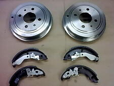 FIAT PUNTO MK2 1.2 BRAND NEW REAR BRAKE DRUM DRUMS X2 & BRAKE SHOES 99-05 (-ABS)