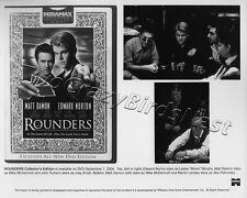 Rounders 8x10 B&W PhotoBilly Matt Damon, Edward Norton  901