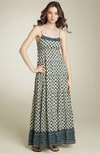 Juicy Couture 'Bohemian Tiered' Maxi Dress Sz 2 - Polynesian Print - Beautiful!