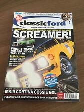 Classic Ford Magazine September 2005 Cortina Cosworth, Mk1 Granada, Consul Capri