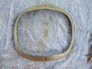 39 1939 PLYMOUTH HEADLIGHT TRIM RING MOLDING SURROUND NOS